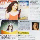 LOS MARES DEL ALBA en la revista MÍA