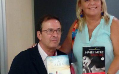 Mar Cantero con Javier Moro