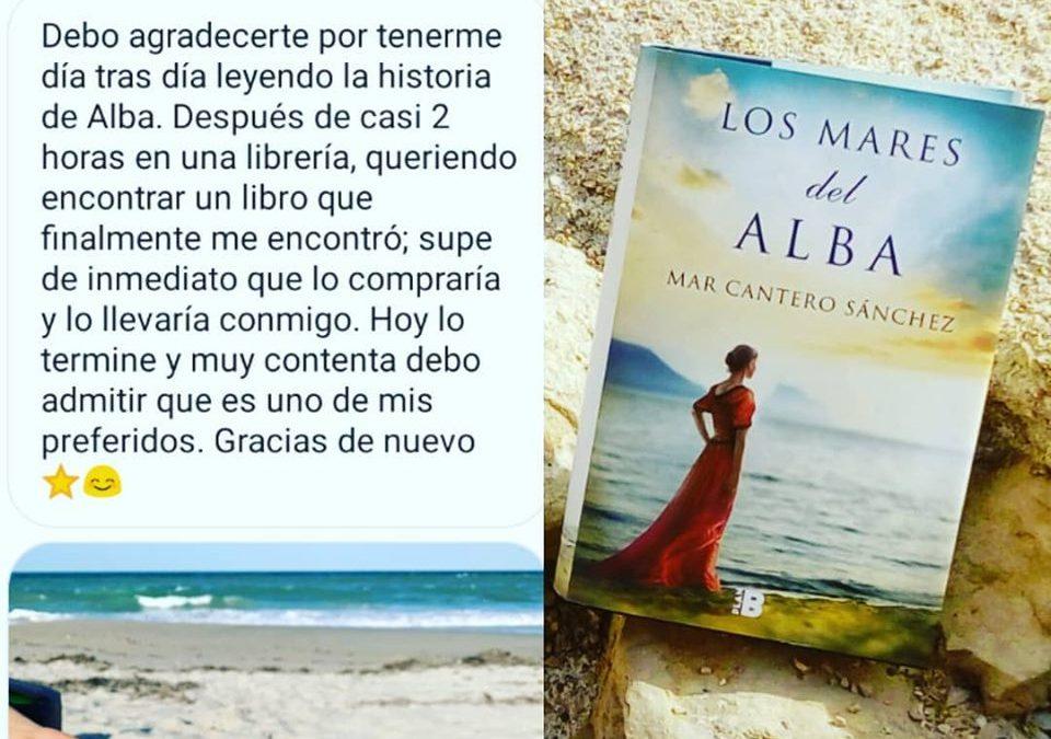 Crítica Los mares del alba, Lectora desde Orlando, Mar Cantero Sánchez, www.marcanterosanchez.com