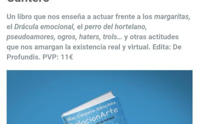 Mi libro RelacionArte en la revista Yogaenred.com
