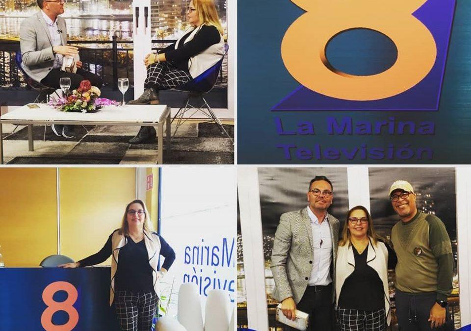 Me entrevistaron en 8 La Marina Televisión