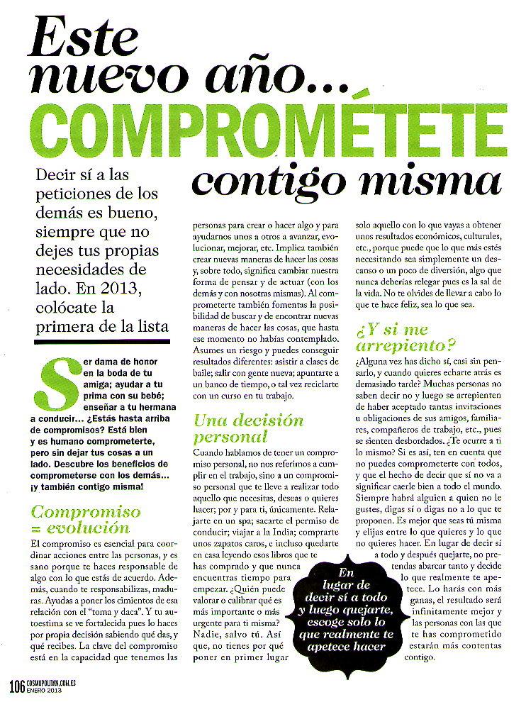 Objetivo Bienestar Nº 6, Cumples o descumples, pag 2, Mar Cantero Sánchez