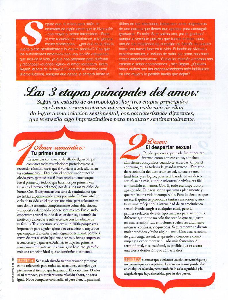 COSMOPOLITAN Nº 266, LO QUE DE VERDAD IMPORTA, pag 2, Mar Cantero Sánchez