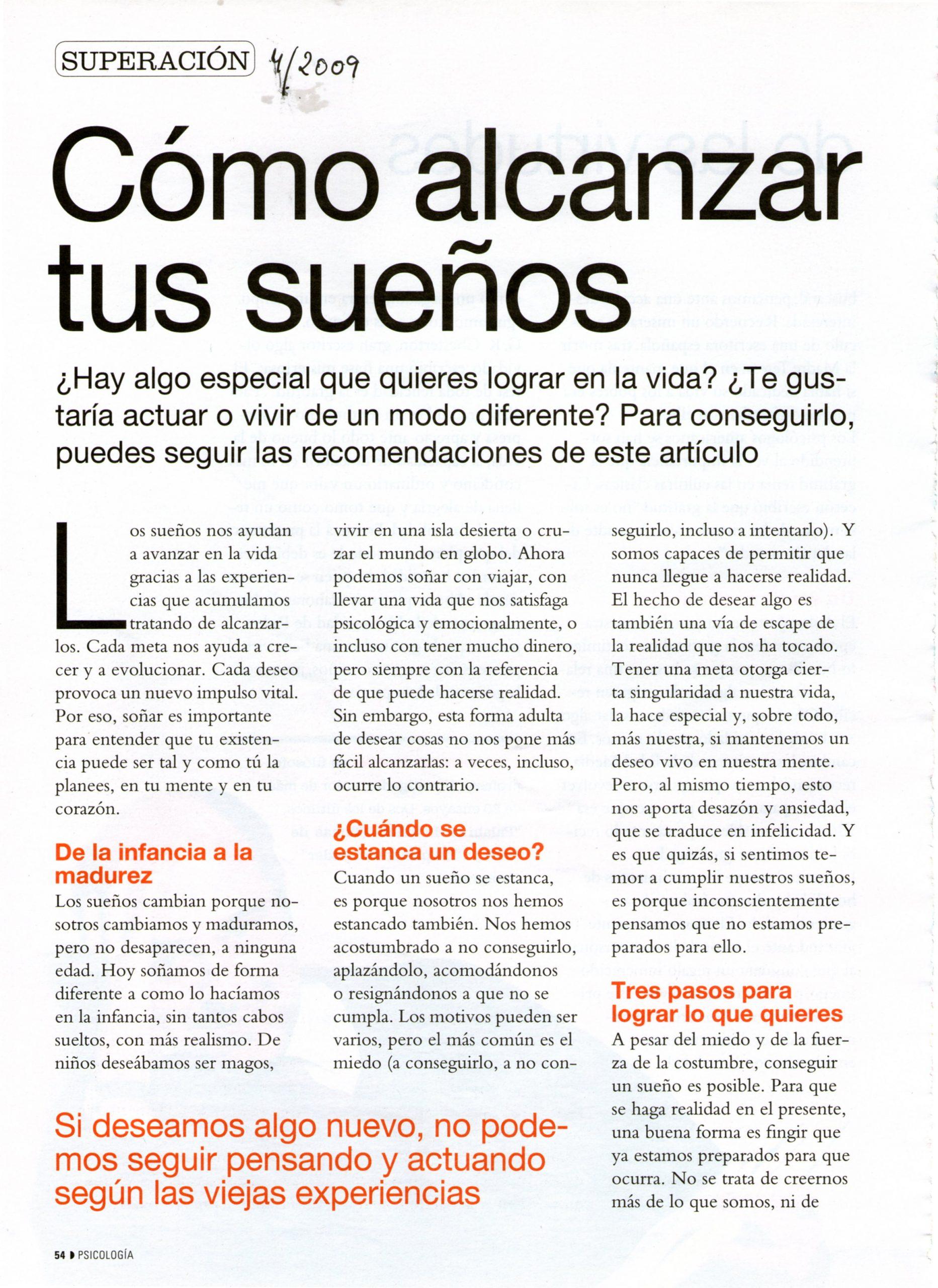 Nº 280 COSMOPOLITAN, pag 1, Mar Cantero Sánchez
