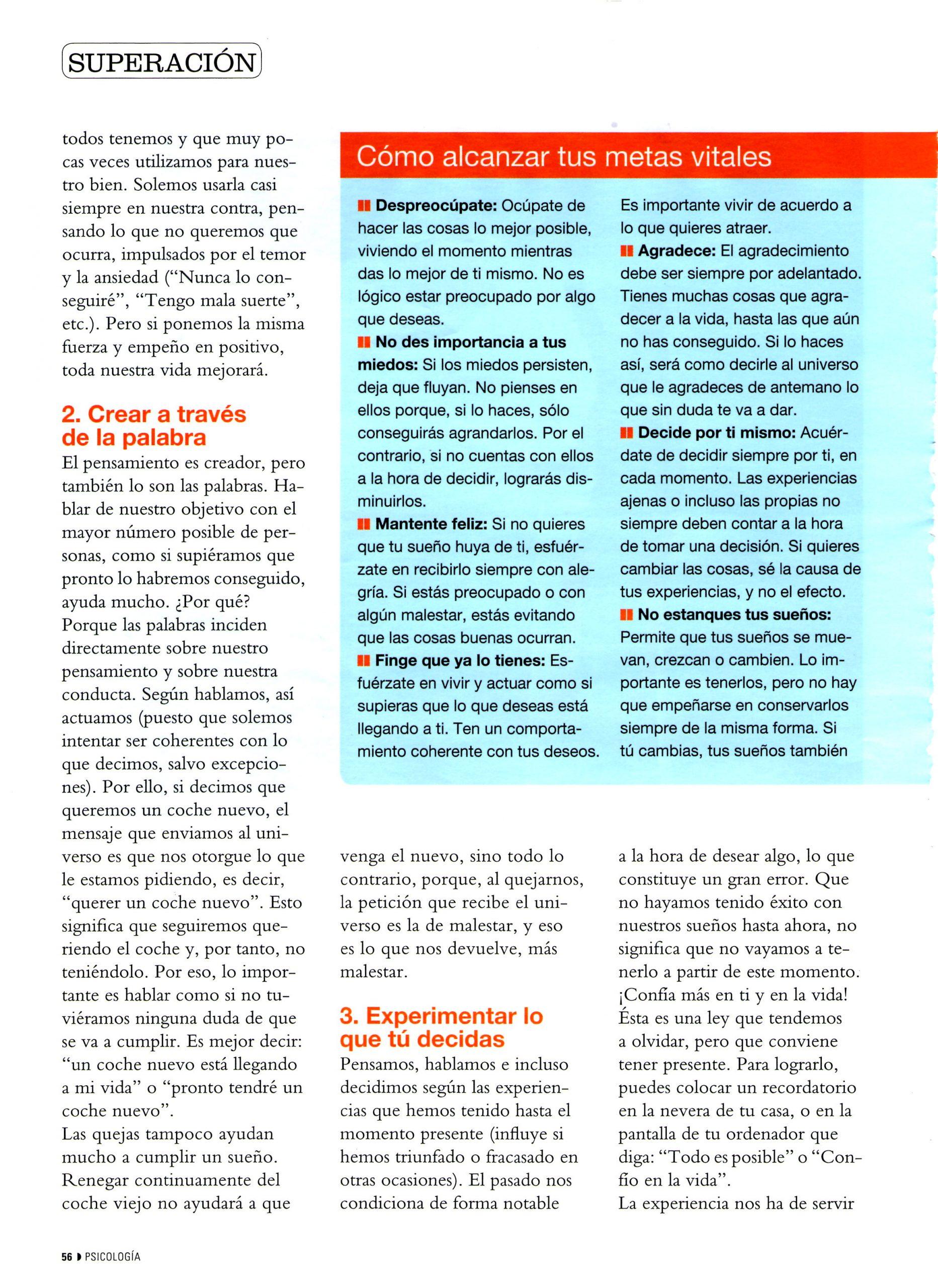 Nº 280 COSMOPOLITAN, pag 3, Mar Cantero Sánchez
