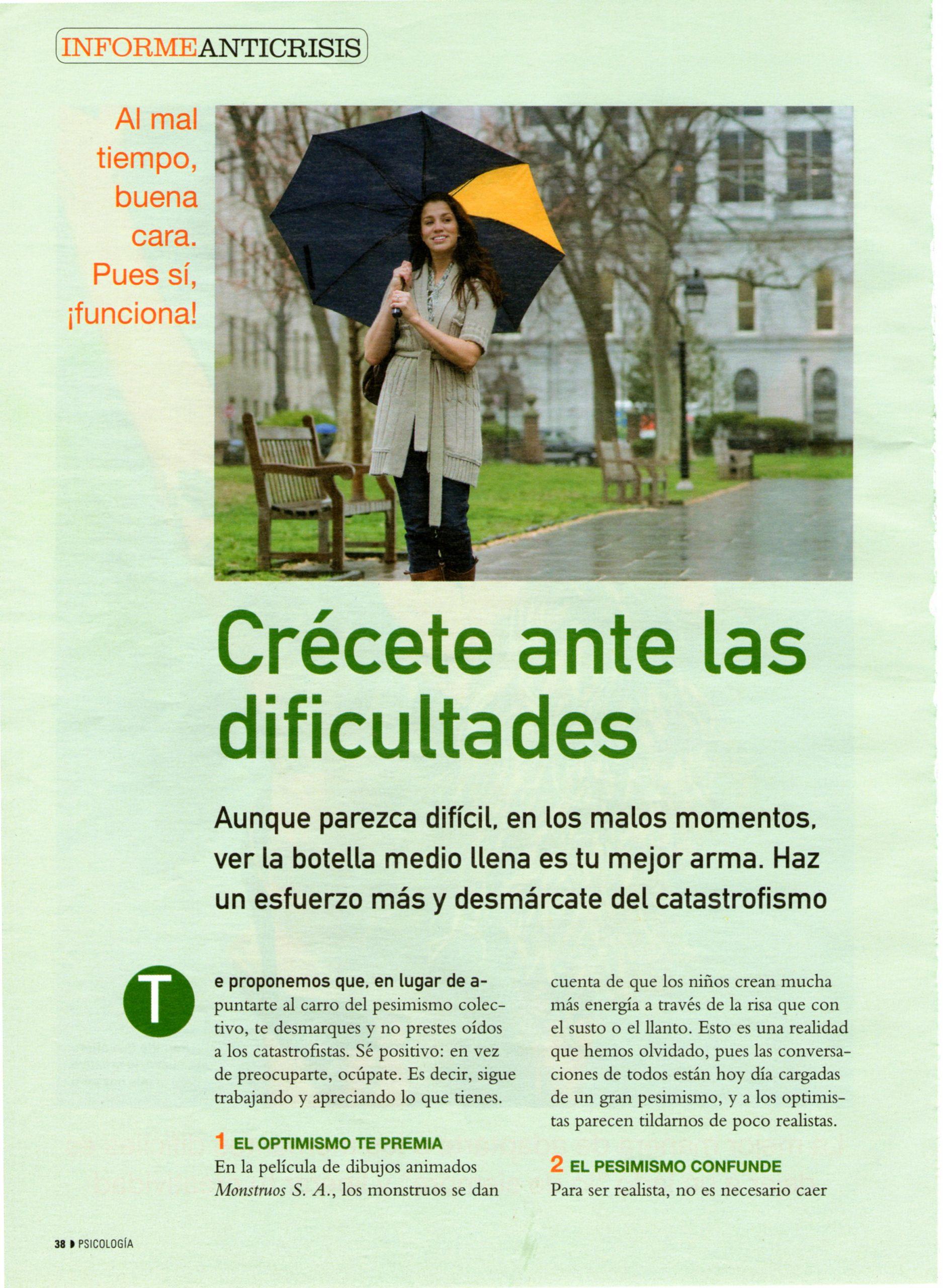 CREER EN TI ES ESENCIAL, pag 2, PSICOLOGÍA PRÁCTICA 5- 2010, Mar Cantero Sánchez